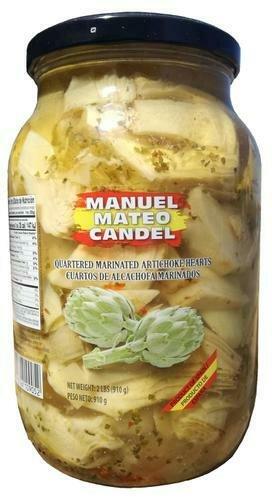 Manuel Mateo Candel Marinated Artichokes 2 lb/ 910 g