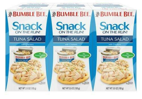 Bumble Bee Tuna Salad Snack 6 pk/3.5 oz