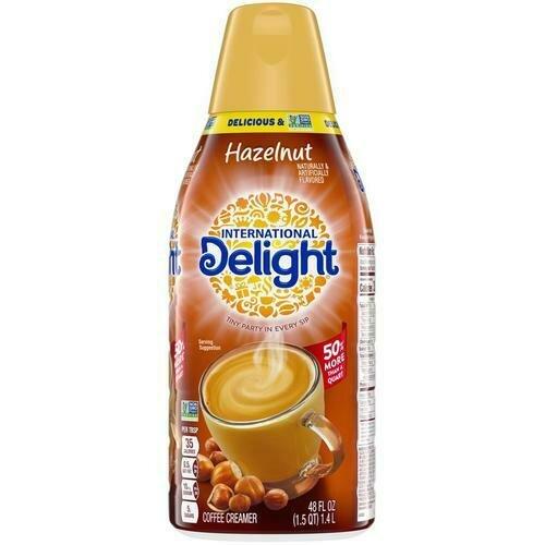 International Delight Hazelnut Creamer 1.4 l /48 oz