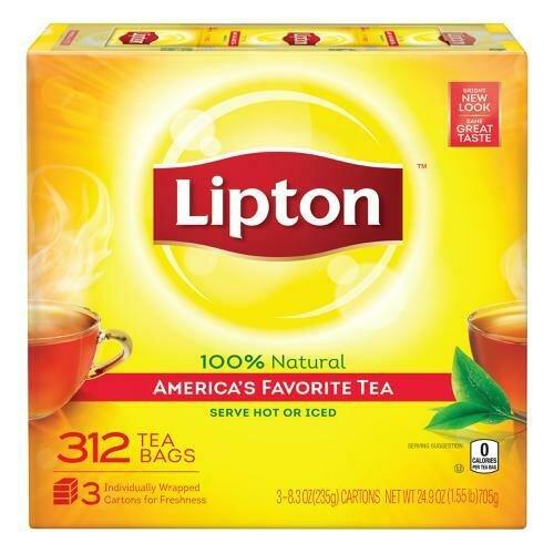 Lipton Tea bags 312 packets