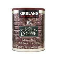 Kirkland Signature 100% Colombian Coffee 48 oz/ 1.36 kg