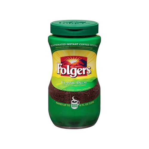 Folgers Instant Decaff Coffee 12 oz/ 340 g