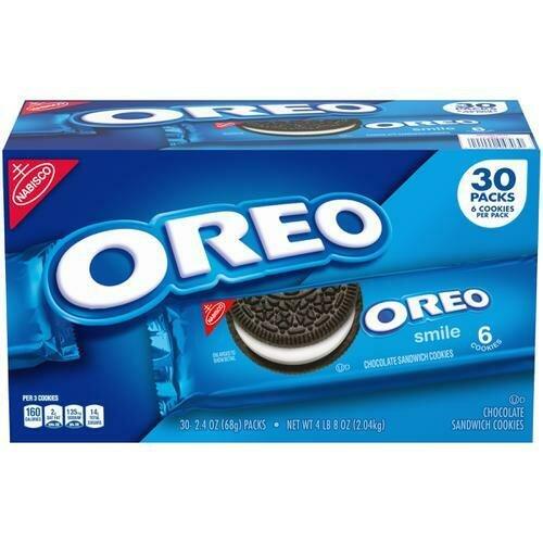 Nabisco Oreo Cookies 30 pk- 2.4 oz/ 68g