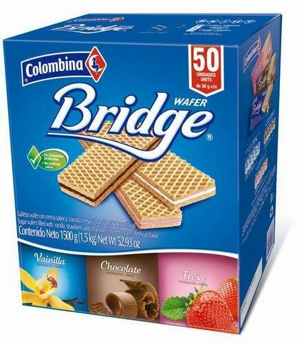 Bridge Assorted Wafer 50 Units / 30 g
