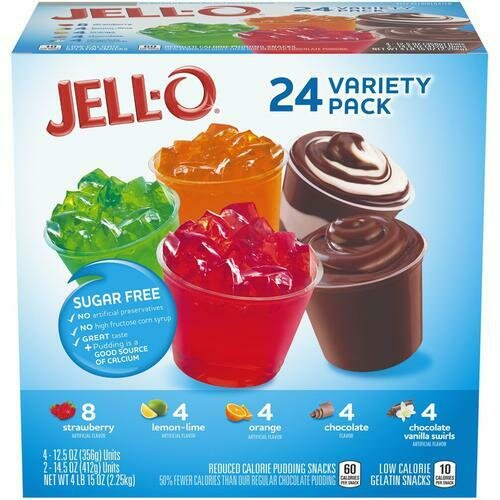 Jell-O Variety Pack 24 pk