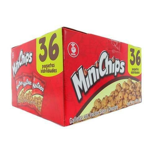 Minichips Chocolate Chip Cookies 36 Units/35g