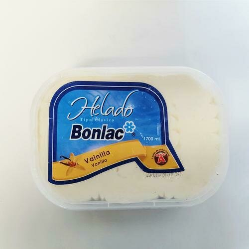 Bonlac Vanilla Ice Cream 1.8 l /  1/2 gal