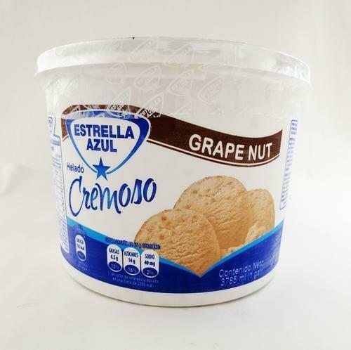Estrella Azul Grape Nut Ice Cream 3.7 l