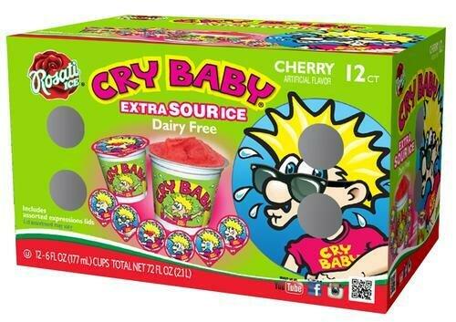 Rosati Cry Baby Cherry Ice 12 pk/ 170 g /6 oz