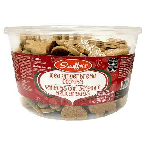 Stauffer's Iced Gingerbread Cookies 48 oz