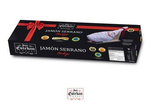 Don Esteban Whole Serrano with Bone Ham, 6.8-7.5 kg / 16-16.5 lb