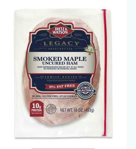 Dietz & Watson Maple Smoked Ham 454 g/ 1lb