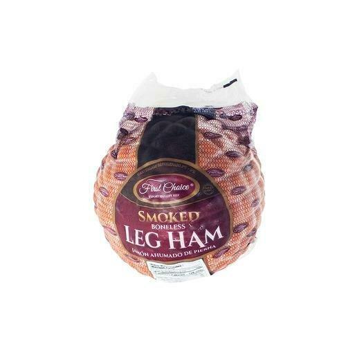 First Choice Frozen Smoked Ham, 2 kg / 4.4 lb