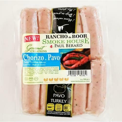 Rancho de Boor Turkey Sausage, 2 Pack / 454 g / 1 lb