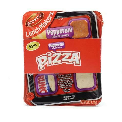 Armour Pepperoni Pizza Lunch Makers 4/ 75g /2.67 oz