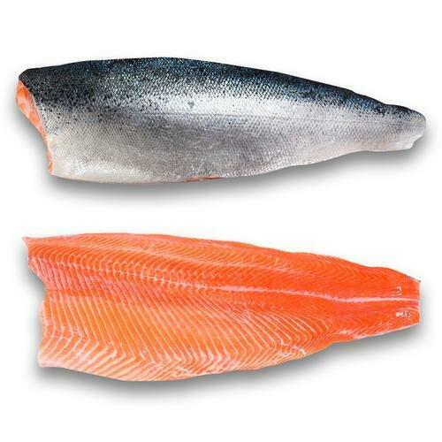 Member's Selection Frozen Skin On, Boneless, Salmon Fillet