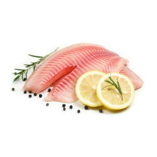 Sea Gallery Chilled Tilapia Fillets, Tray Pack  1 Kg. / 2.2 Lb.