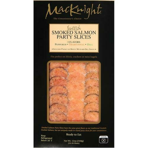 MacKnight Smoked Salmon Slices 340 g/ 12 oz