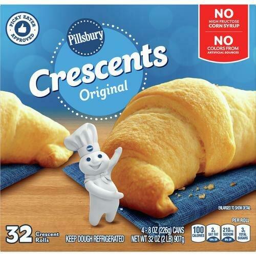 Pillsbury Crescent Rolls 32 ct/ 28 8 / 1 oz