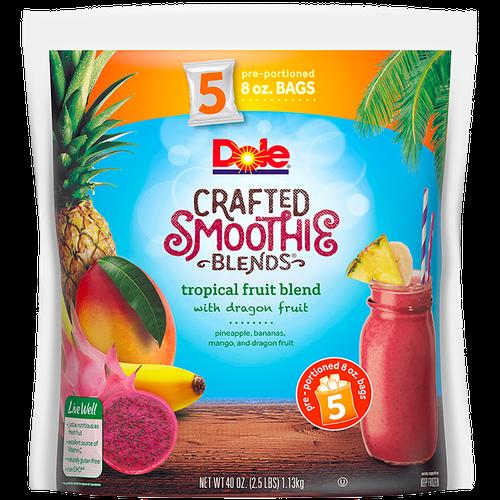 Dole Tropical Fruit Smoothie Blend 1.13 kg / 2.5lb