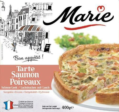 Marie Tarte Salmon & Leek Tarts 2 pk / 400 mg / 14 oz