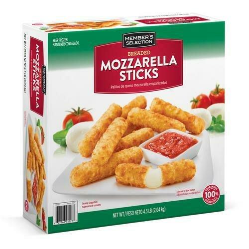 Member's Selection Breaded Mozzarella Sticks 2.04 kg / 4.5 lb