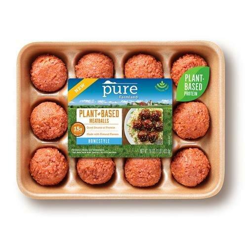 Pure Farmland Plant Based Meatball 453.5 g / 16 oz