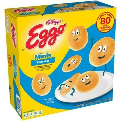Eggo Mini Pancakes 80 Units / 10 g / 0.3 oz