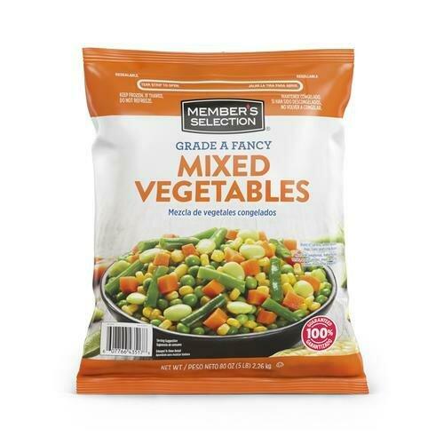Member's Selection Grade A Fancy Mixed Vegetables 2.26 kg / 5 lb