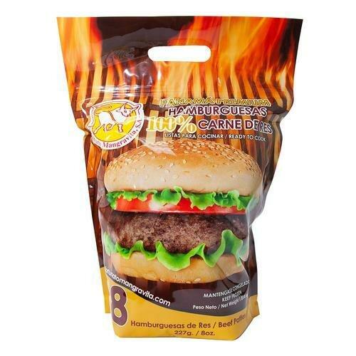 Panamá Premium Beef Burger, 8 Units / 227 g / 8 oz