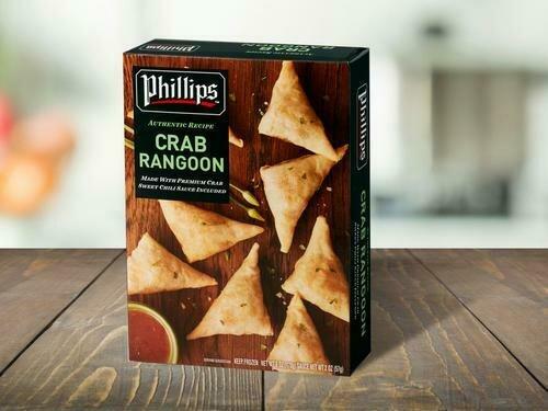 Phillips Crab Rangoon 170 g / 6 oz