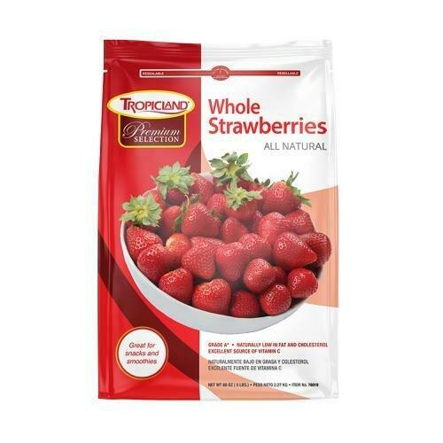 Tropicland Whole Strawberries 2.2 kg / 5 lb