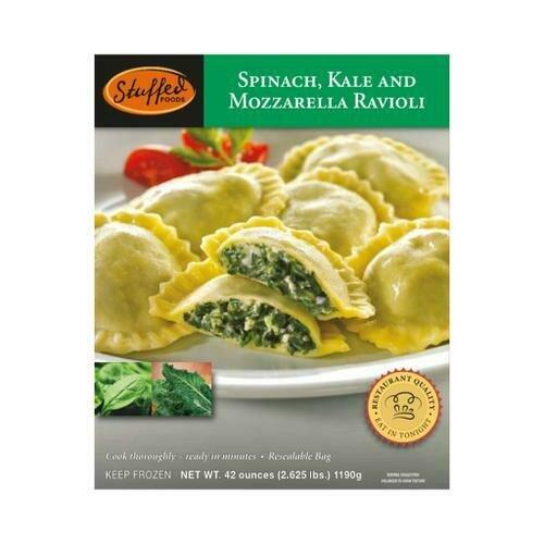 Stuffed Foods Spinach Ravioli, 1.2 kg / 2.6 lb