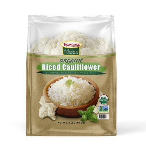 Tropicland Organic Cauliflower Rice