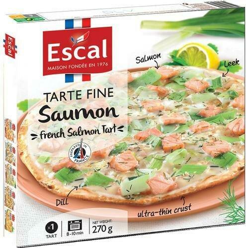 Escal Salmon Flatbread  2 ct / 270 g / 10.8 oz