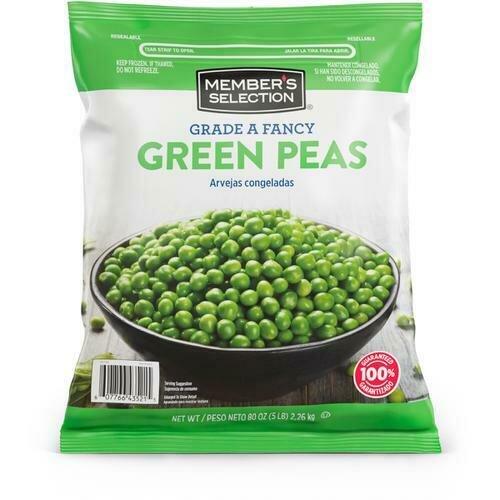 Member's Selection Grade A Fancy Green Peas 2.26 kg / 5 lb