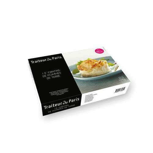 Traiteur de Paris Potato Gratins, 12 Units / 120 g / 4.2 oz