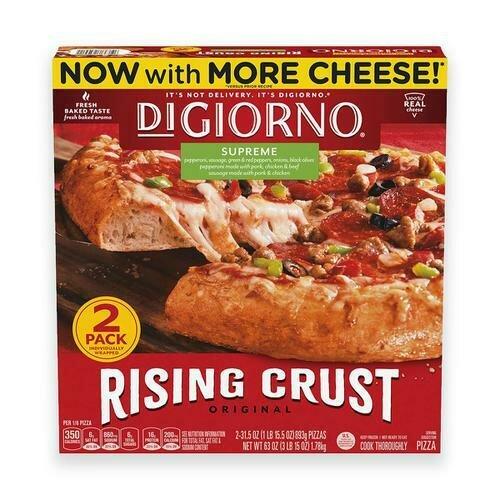 DiGiorno Pizza Supreme 2 Pack / 893 g / 1.9 lb