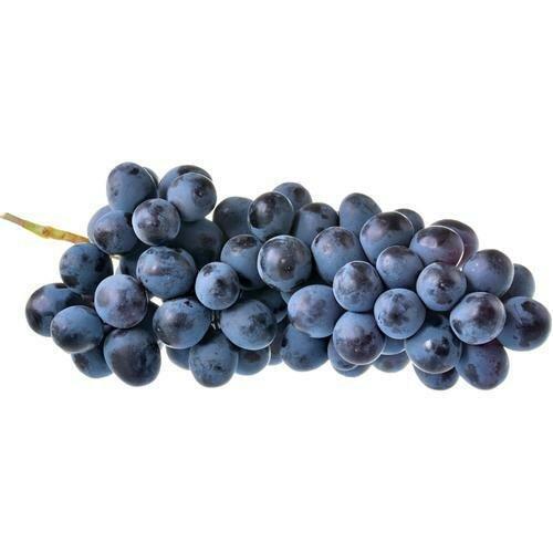 Seedless Black Grape 1 kg / 2.2 lb