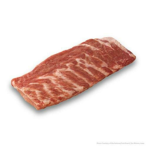 Member's Selection Frozen Whole St. Louis Pork Rib, Vacuum Packaged