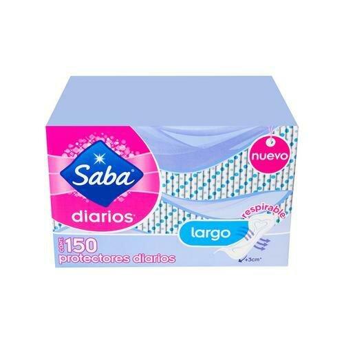 Saba Daily Protectors 150 Units