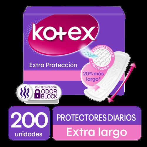 Kotex Days Protector Long 200 units