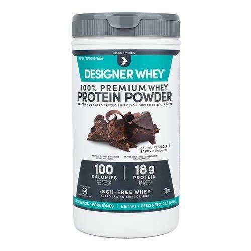 Designer Whey Chocolate Protein Powder 2 lbs/18 g Protein