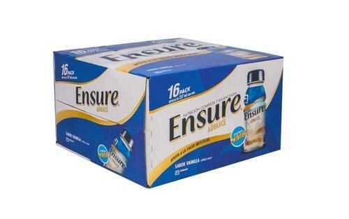 Ensure Advance Nutritional Supplement Vanilla Flavor 16 Units/237 ml-8 oz