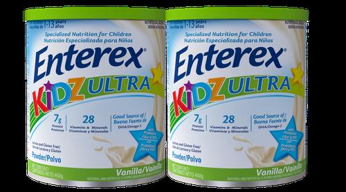 Enterex Kidz Ultra Vanilla Supplement 2 units/ 450 g