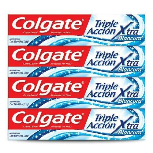 Colgate Extra Whiteness Toothpaste 4 units / 125 ml