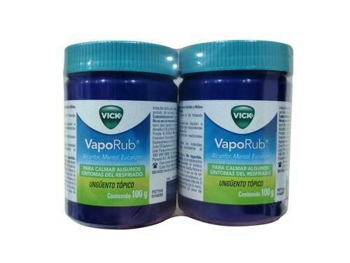 Vick Vaporub Menthol Eucalyptus 2 units / 100g