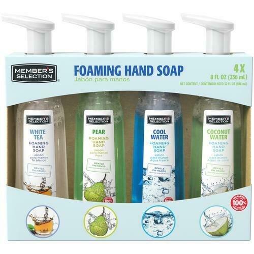 Member's Selection Foaming Hand Soap 4 pk/8 fl oz
