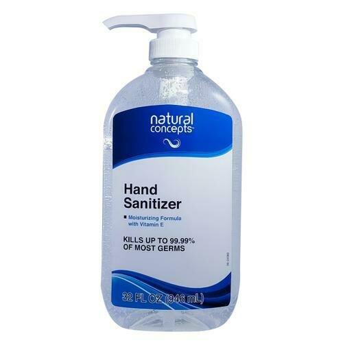 Natural Concepts Hand Sanitizer 32 oz