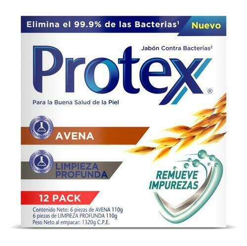 Protex Oats/Deep Clean Soap 12 Units/110 g